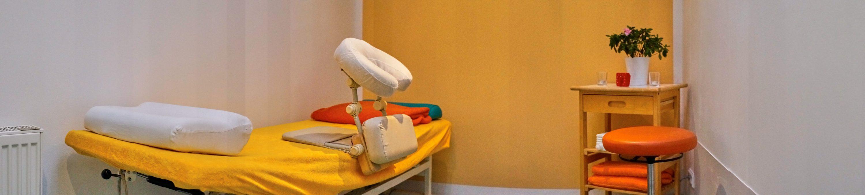 Physiotherapie Pasewalk & Osteopathie Pasewalk - Ein Behandlungsraum in der Praxis von Antje Paulicks