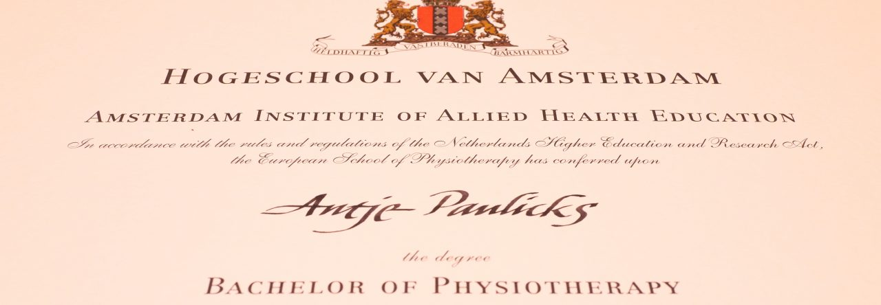 Physiotherapie in Pasewalk: Antje Paulicks, Bachelor of Physiotherapy (HvA)
